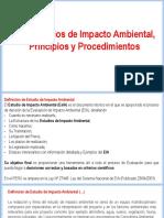 Semana N°05 - Los Estudios de Impacto Ambiental, Principios y Procedimientos