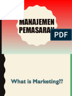 manajemen pemasaran ppt
