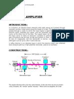 Klystron Amplifier