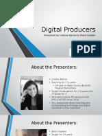 convergence presentation - digital producers