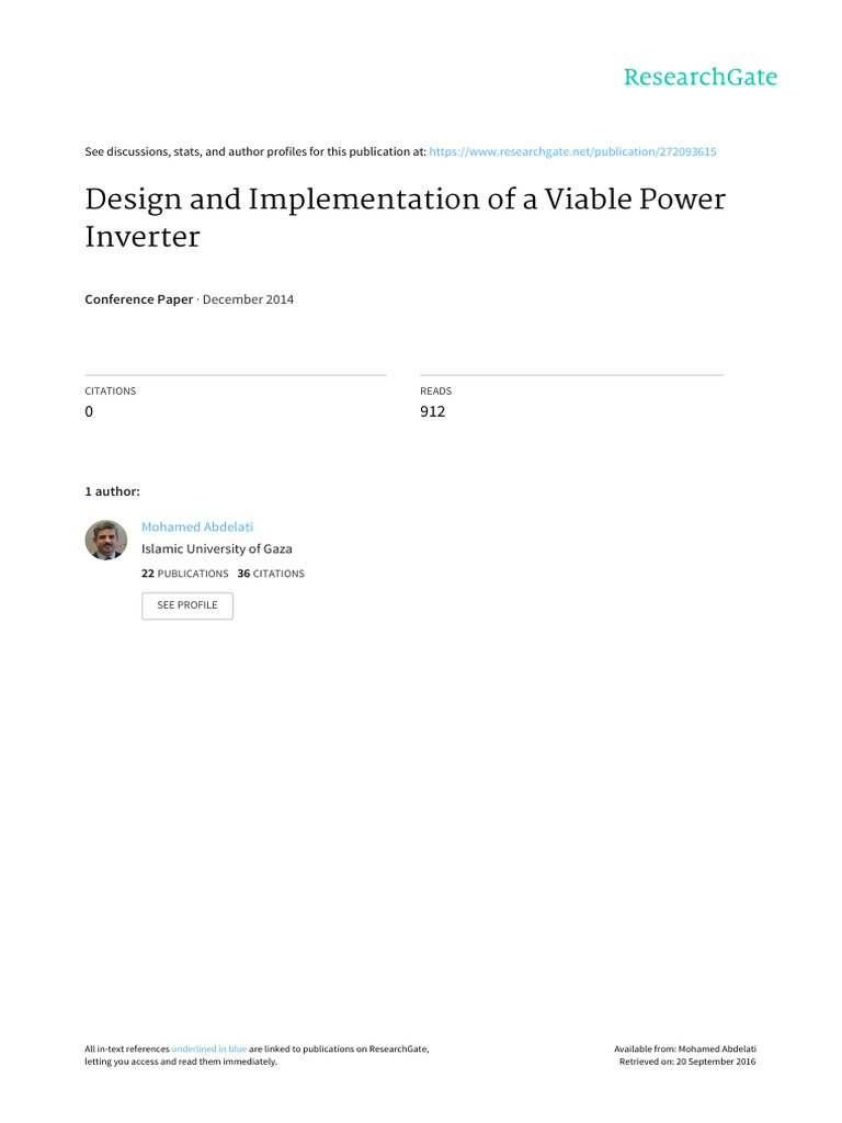 Design Nad Impllementation Power Inverter Battery Charger Complete 1 Kva Circuit With 50 Hz Sine Oscillator