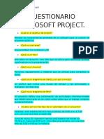 Mau Bucardo Project Cuestionario