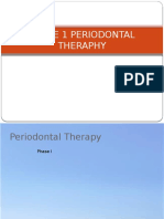 L19 Phase I Periodontal Therapy