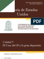Unidad 7 El Crac del 29 y la Gran Depresión