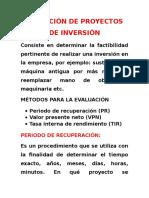 Desarrollo Portafolio de Inversion