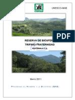 Ficha Reserva de Biosfera Transfronteriza Trifinio Fraternidad Guatemala