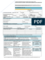 FormularioUnicode Evaluacion de INGRESO DEA 2012-3