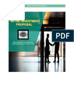 Initial Investment Proposal Form