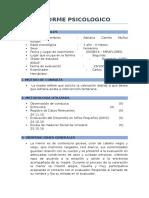 Informe Psicologico Adriana Muñoz