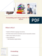 Formatting and Citing Guide for MLA Essays (1)
