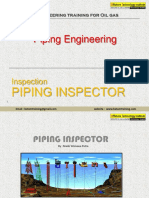 23 Piping Inspector