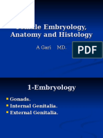 Female Embryology, Anatomy and Histology