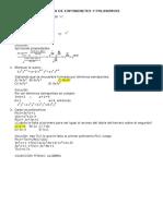 Teoria de Exponenetes y Polinomios
