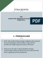 Etika 3 Etika Pustakawan Versi IFLA
