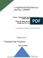 Curso Desarrollo de Proyectos de Ingenieria Clase 2 Septiembre 2015IVR