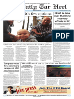 The Daily Tar Heel for Nov. 30, 2016