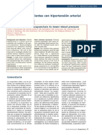 Acupuntura en Pacientes Con Hipertensión Arterial