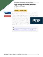 1571746390 Practical Psychic Self Defense Handbook