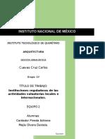 Tarea 20.- Instituciones reguladoras de las actividades valuatorias locales e internacionales.docx
