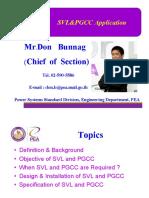 SVL & PGCC application