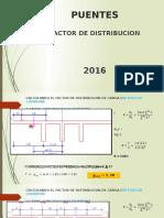 Puentes Factor de Distribucion