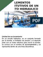 Elementos Constitutivos de Un Circuito Hidraulico
