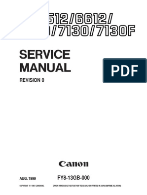 Canon Np 6512 Sm | Image Scanner | Printed Circuit Board