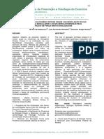 A Participação Da Glicogênio Sintase Cinase 3 Na Modulação de Vias Hipertróficas Musculares e as Influências Do Exercíco de Forças Nestas Sinaliz