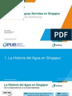Alex Miquel Reuso de Aguas Servidas en Singapore