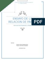ENSAYO DE LA RELACION DE PAREJA.docx