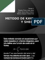 Metodo de Kaya y Sheib