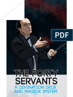 The Forty Servants Guide Book