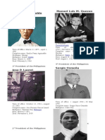 First Philippine President