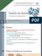 Diseño de Bombas
