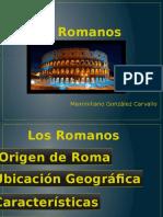 Los Romanos Ppt