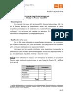 Informe Leptospirosis SE26 20160705