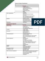 PSR Segments Applications Products 11 01