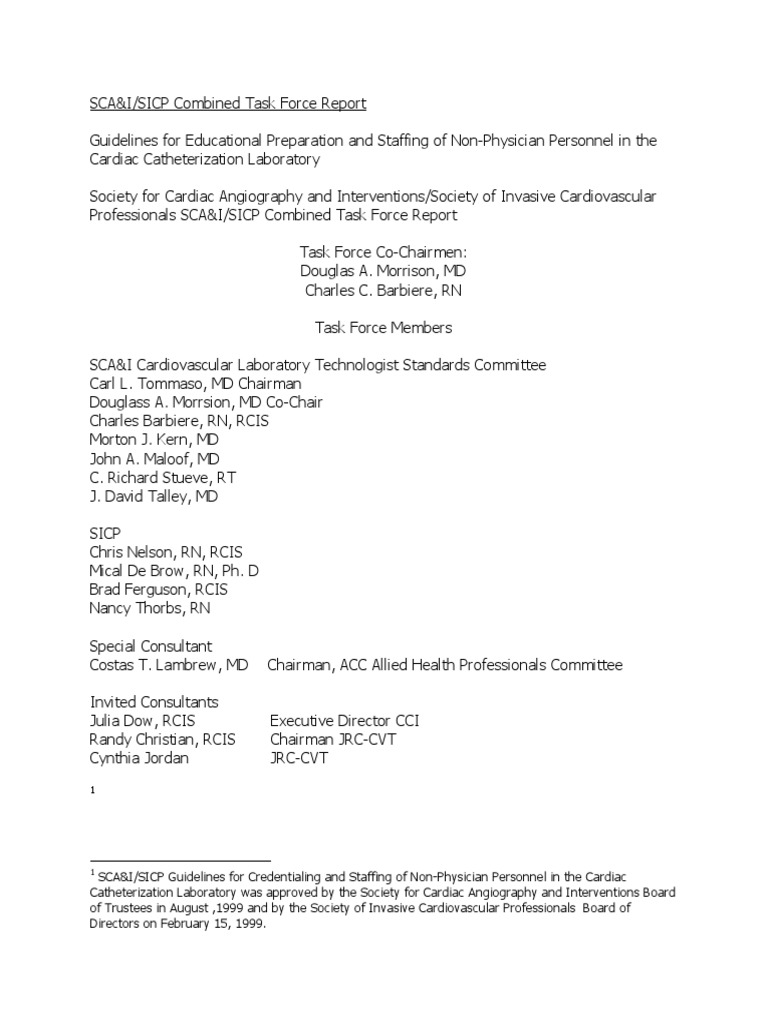 060104 Report Scai Sicp Task Force Echocardiography Credential