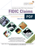 Fidic Claims Dubai Dec 2016