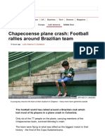 Chapecoense Plane Crash_ Football Rallies Around Brazilian Team - BBC News