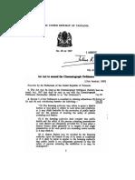 The Cinematograph Ordinance (Amendment) Act, 28-1967 (2)