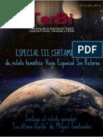 TerBi Revista Nº 6 - Viaje Espacial Sin Retorno Julio 2013