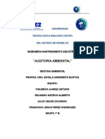Auditoria Ambiental Final