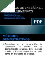 Equipo 7. Metodos Demostrativos.