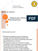 Makalah Capital Budgeting