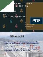 The Three Gorges Dam IB SL