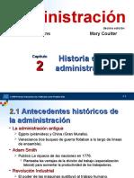 TEMA 02 ROBBINS HISTORIA DE LA ADMINISTRACION.ppt