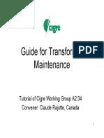 A2.34+Transformer+maintenance+Tutorial