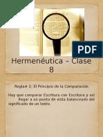 Hermeneutica VIII