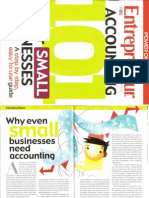 Entrepreneur Magazine's Accounting 101 for SMBs